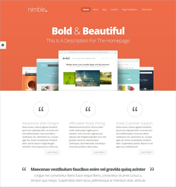 news mobile wordpress theme