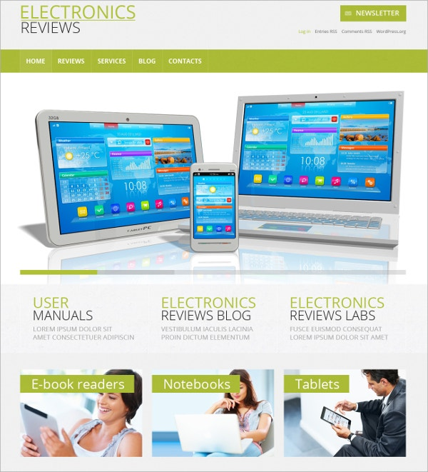custom electronics responsive wordpress theme 75