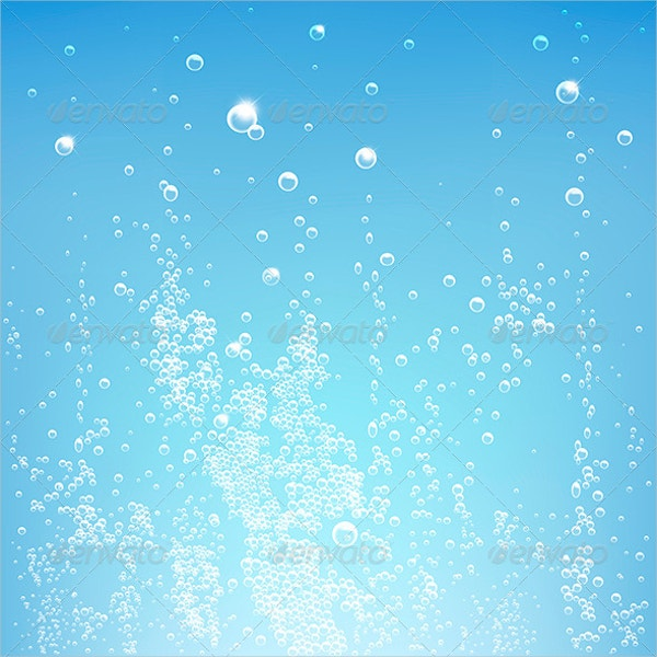 blue bubble texture