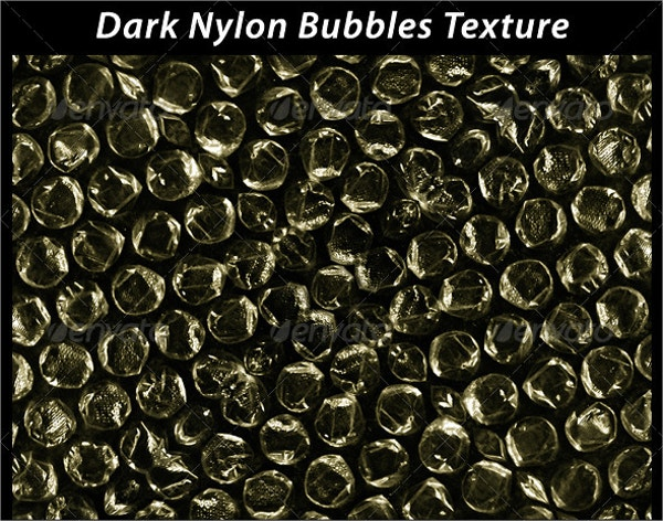 dark nylon bubble wrap texture