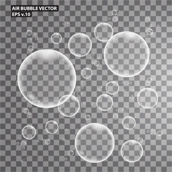air bubbles texture collection