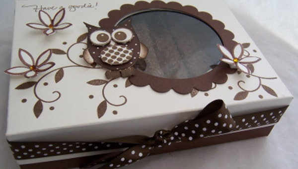 chocolate box template