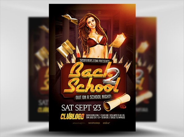 Elegant Back to School Flyers