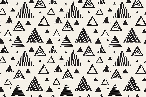 stripe triangle pattern