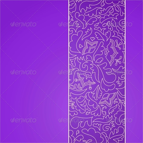 Flower Stripe Ornamental Pattern