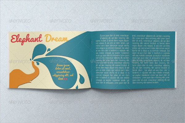 Illustrated Childrens Book Template