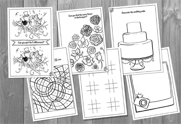 Printable Childrens Activity Book Template