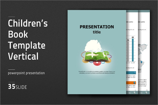 Childrens Book Power Point Template
