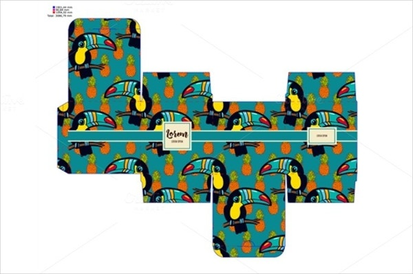 Gift Box With Toucan