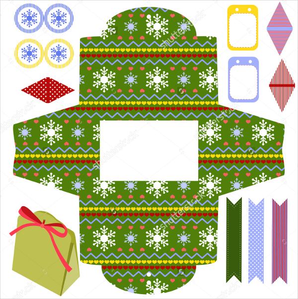 festive favor box