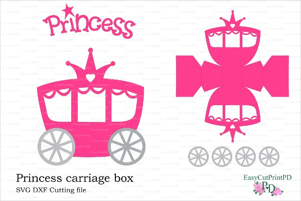 Princess Carriage Box