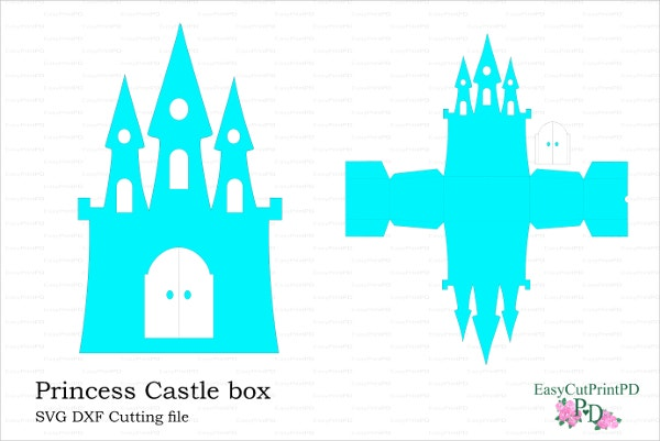 Princess Frozen Castle Box