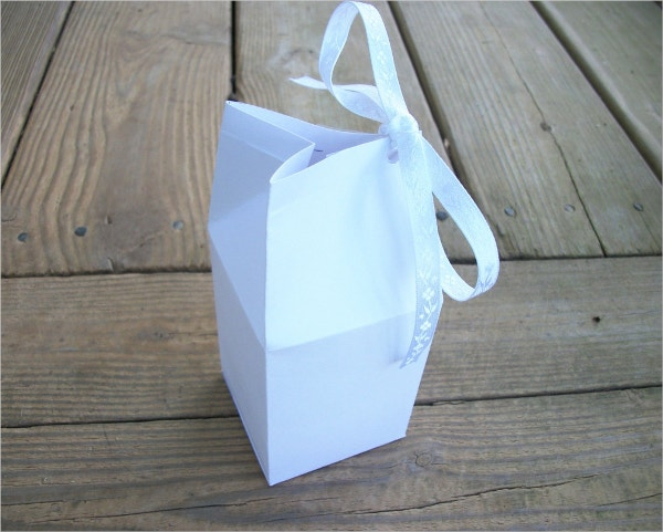 Milk Carton Favor Box
