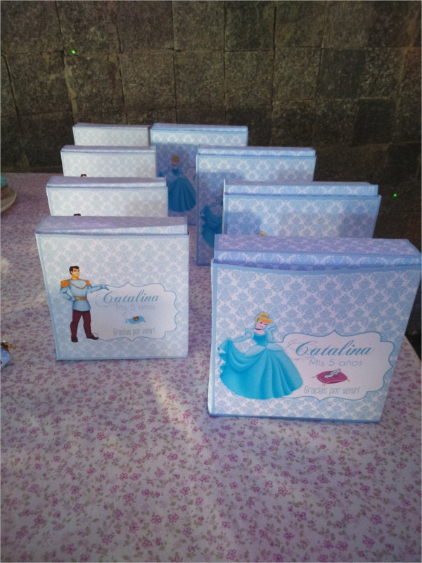 Cinderella Printable Favor Box