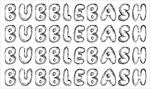 Bubble Bash Font