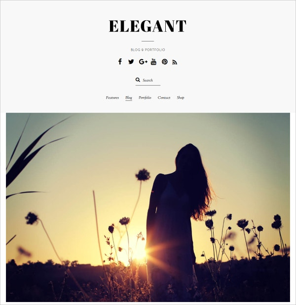 elegant minimal wordpress theme 79