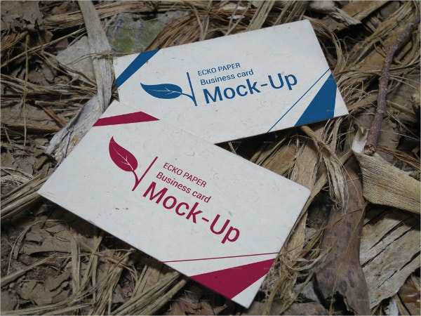 eco kraft paper business card