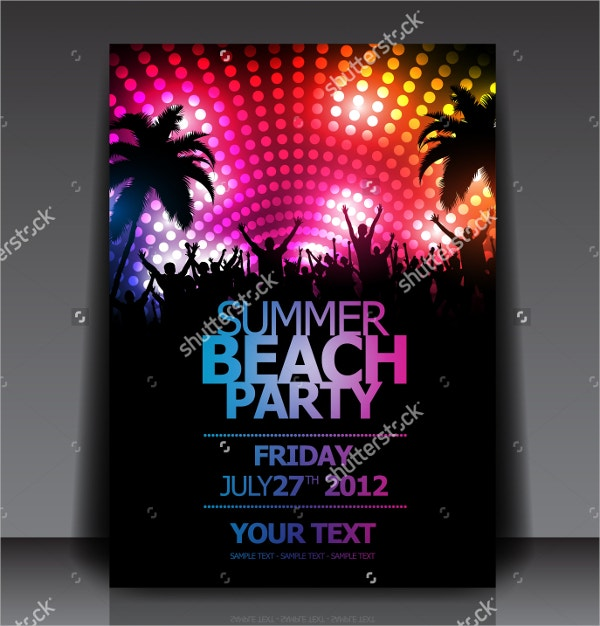 Party Flyer Templates  Free Psd Ai Eps Format Download