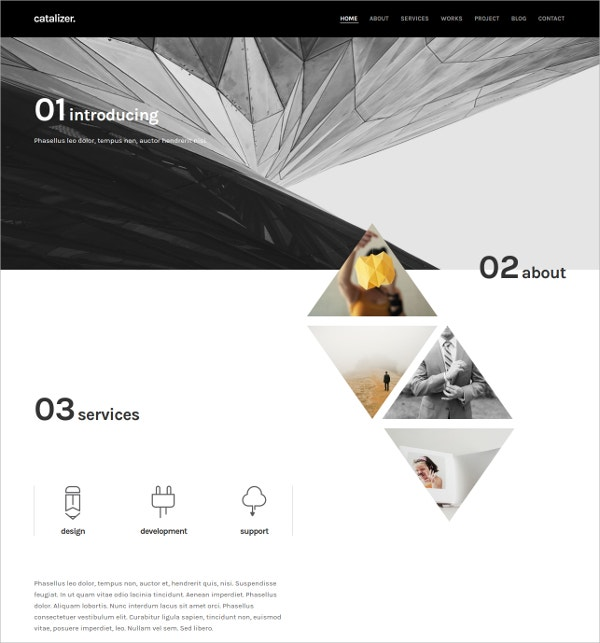 Minimal Multipurpose White WordPress Theme $39
