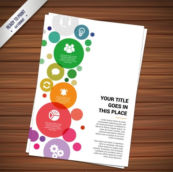 colorful brochure templates - 21 beautiful examples of evergreen leaflet designs for
