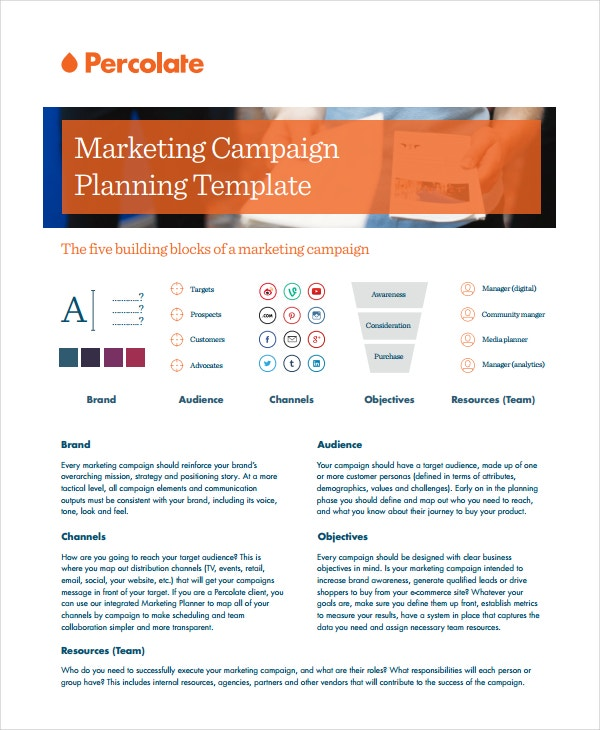 Marketing Media Campaign Project Template