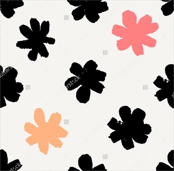 floral pattern petal brushes