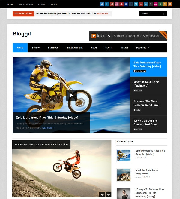Adventure Photography Portfolio WordPress Theme
