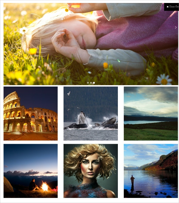 Portfoliio Free Photography WordPress Theme