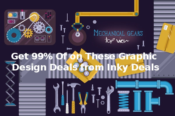 Get 99% Of on These Graphic Design Deals from Inky Deals