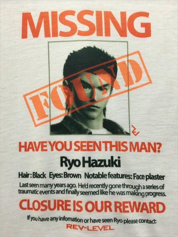 Missing Poster Found On Tee  Found Poster Template