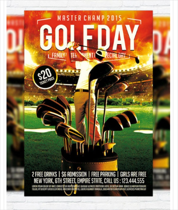 Golf Day PSD FLYER