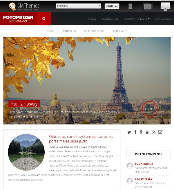 world travel free wordpress theme