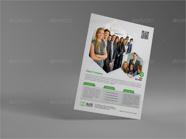 multipurpose business professional flyer
