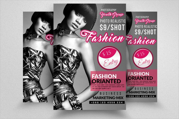 Professional Fashion Flyer Template