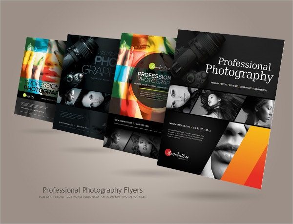 Modern Professional Photography Flyers