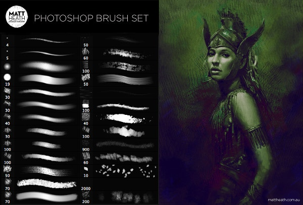 Matt Heath FREE Photoshop Brushes
