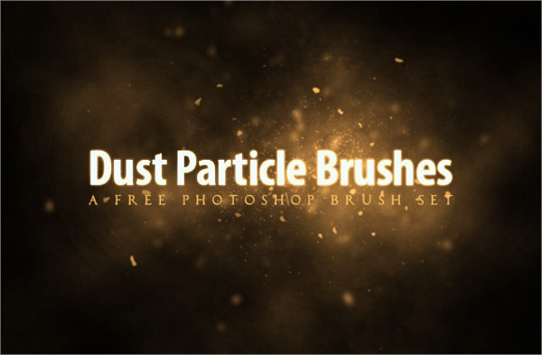 Free Dust Particle Photoshop Brush
