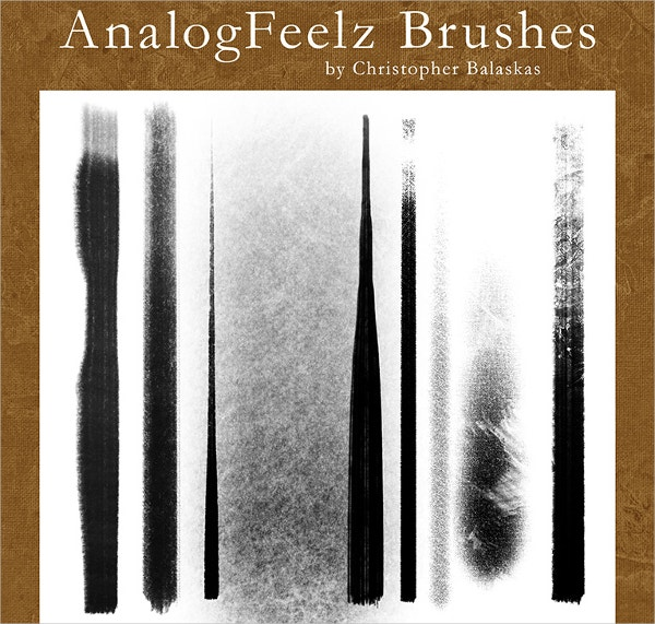 Analog Feelz Brushes Photoshop