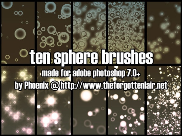 Sphere Brushes Photoshop Download
