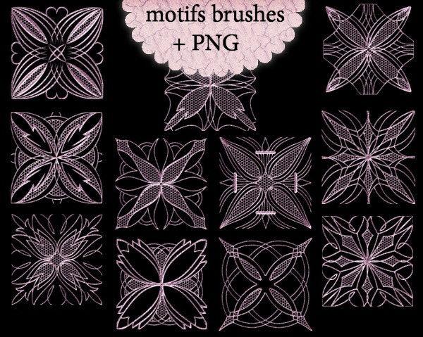 Motifs Photoshop Brushes