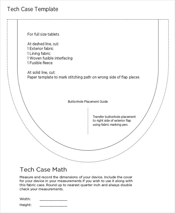 Tech Case Template