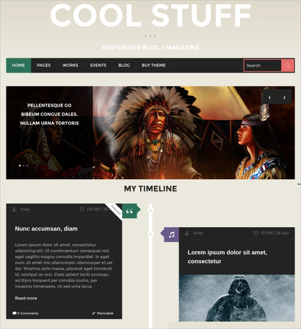 Music Blog News & Magazine Free WordPress Theme