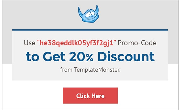 Template Monster Coupon Code for June 2016 [20% Off]