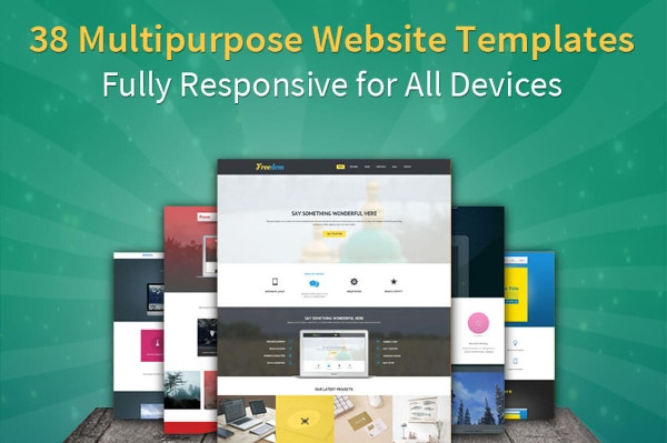 51% Off on 38 Bootstrap 3 Templates from B3Themes - only $24!