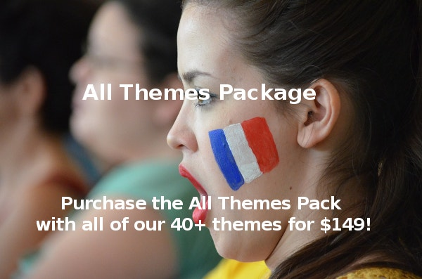 All 40+ Themes Pack for $149!