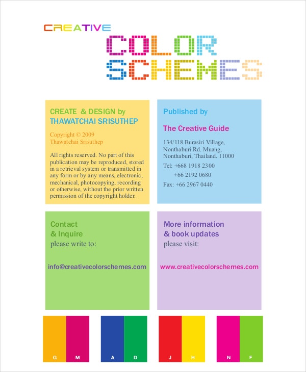 web design color chart