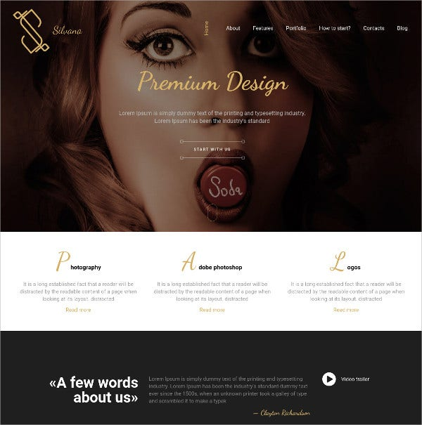 Modern Creative Agency HTMl5 WordPress Theme $44