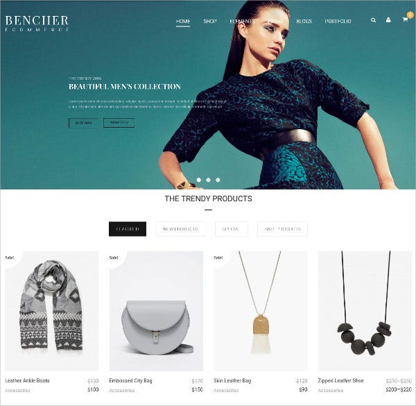 Responsive WooCommerce WordPress Theme $59