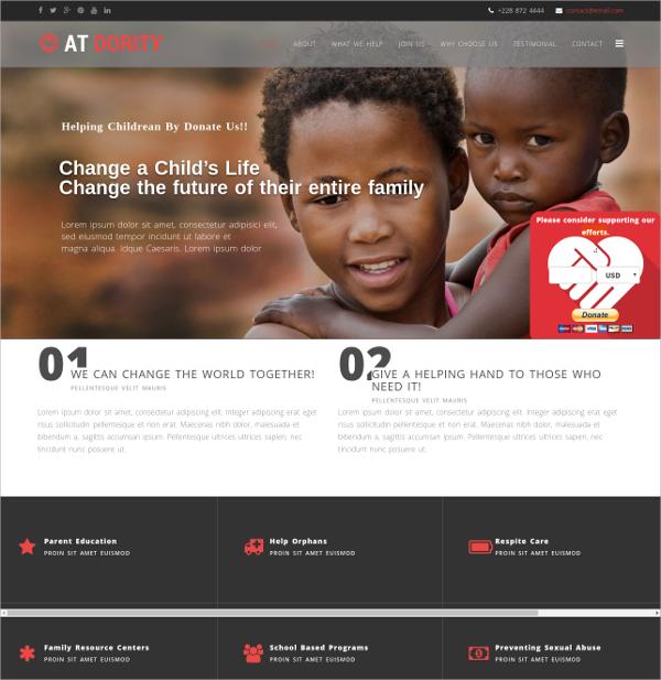 Social Onepage Joomla Template $19