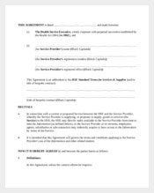 Contractor Confidentiality Agreement for Data Service Provider Sample